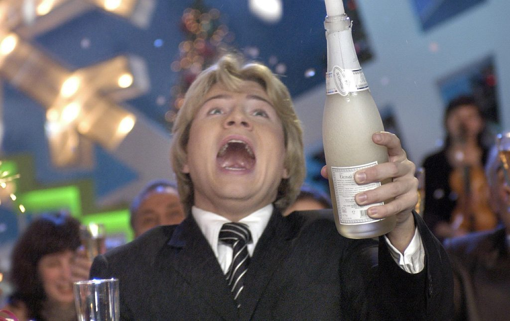 Это стоит увидеть! Николай Басков устроил пьяный дебош