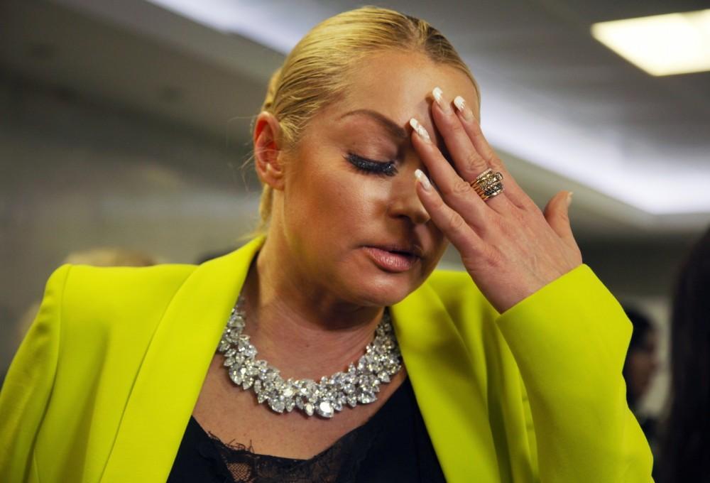 Анастасии Волочковой стало плохо в зале суда