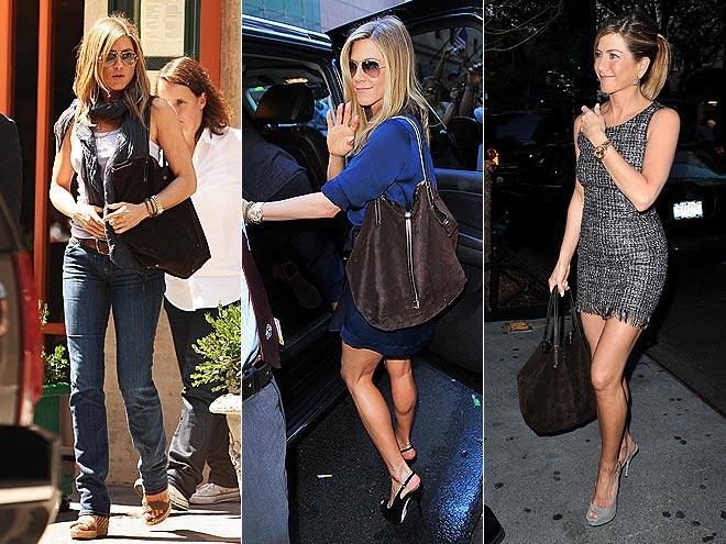 Стильная Дженнифер Энистон и варианты ее модных образов на каждый день