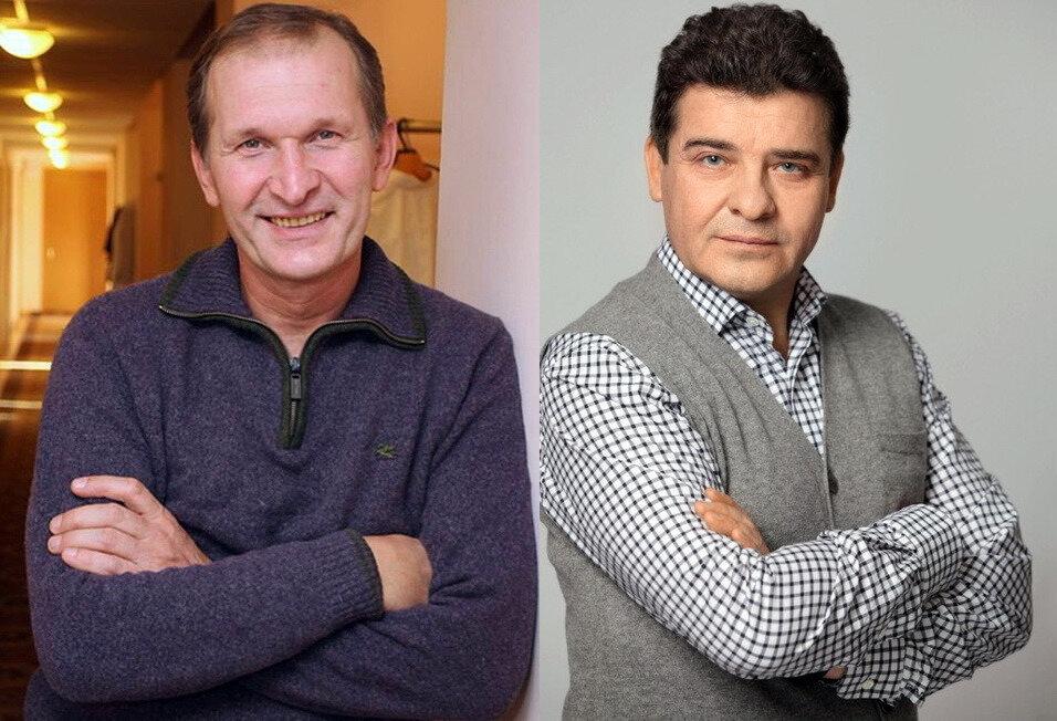 Сергей Дорогов иФедор Добронравов