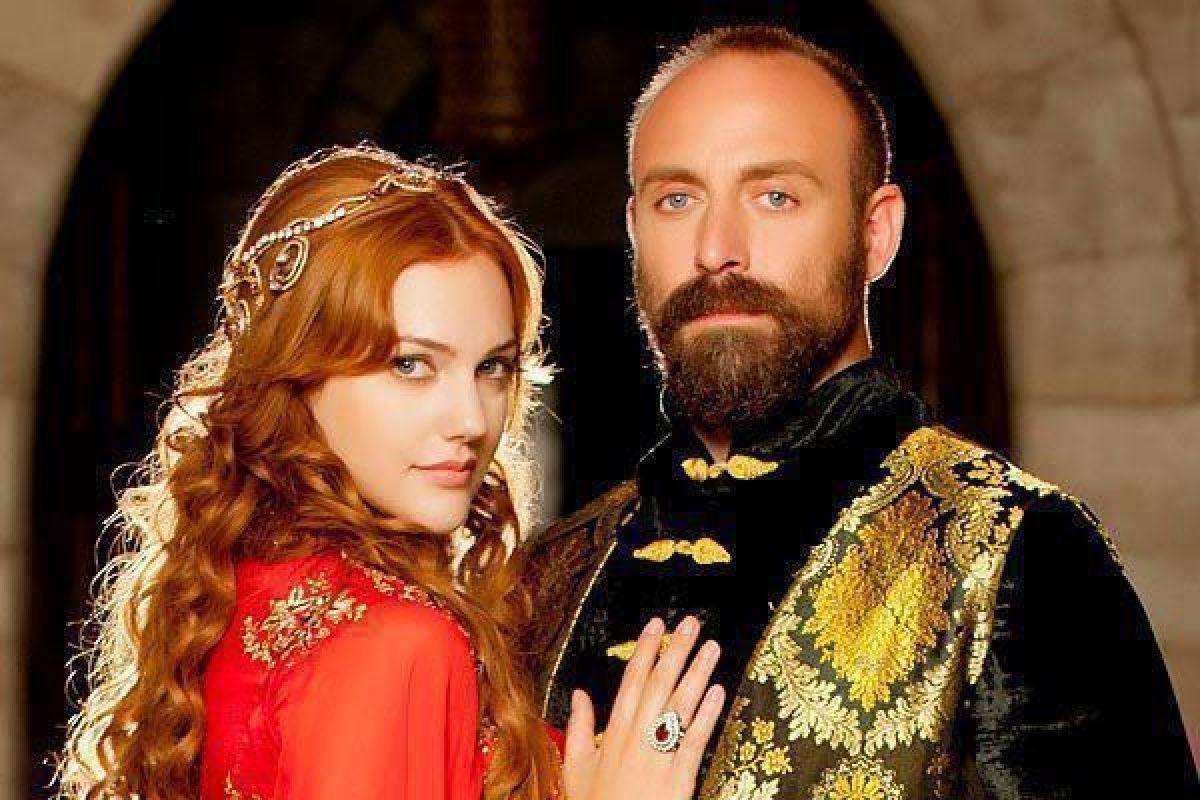Султан Сулейман и Хюррем султан из сериала