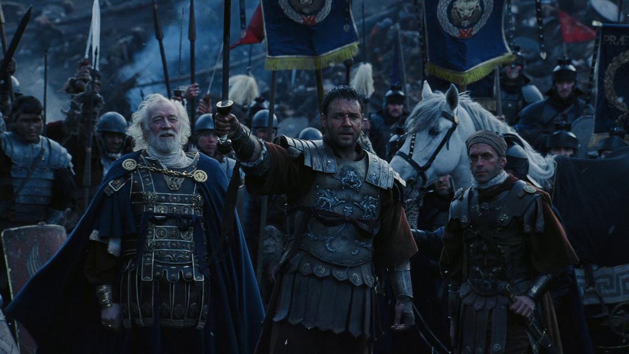 Гладиатор: во время битвы Марк Аврелий не был убит