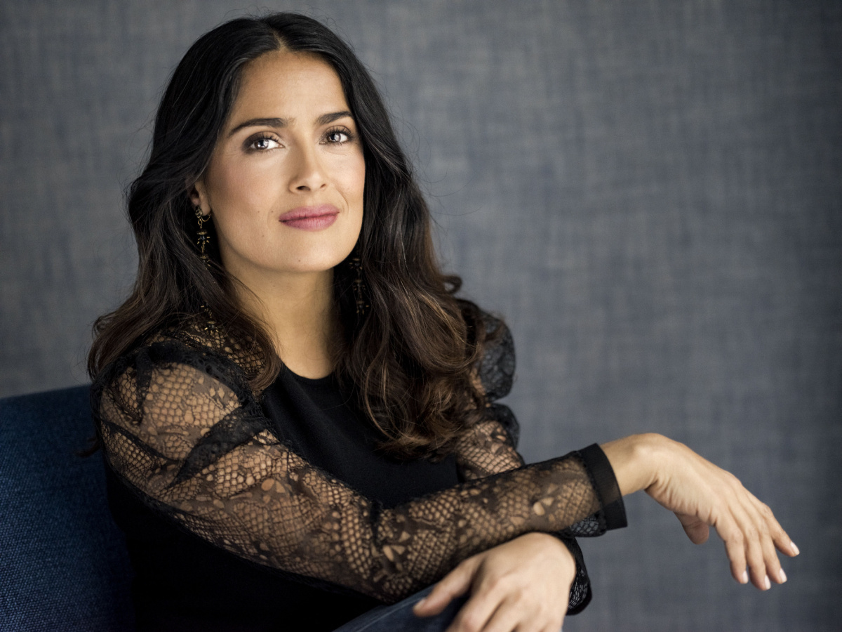 Секреты красоты и молодости от горячей мексиканки: Сальма Хайек