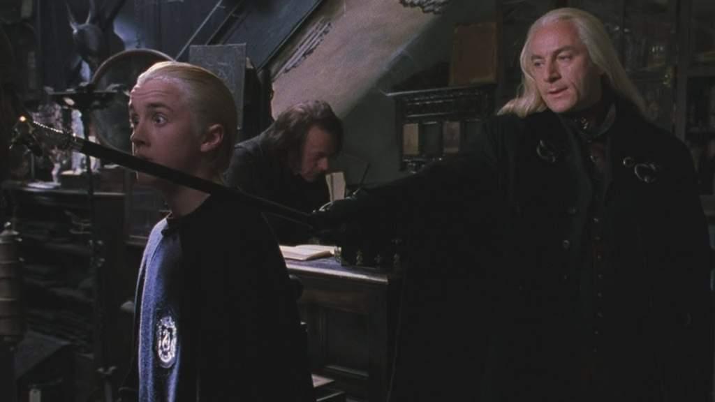 «Гарри Поттер и Тайная комната»: Боль Драко